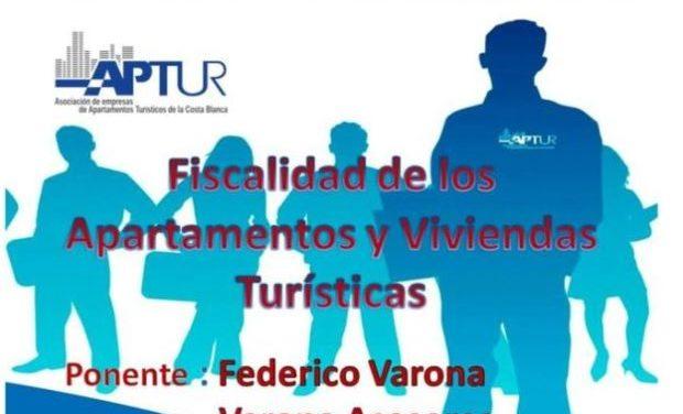 FEDERICO VARONA DETALLA EN APTUR LA FISCALIDAD DE LOS APARTAMENTOS Y VIVIENDAS TURÍSTICAS